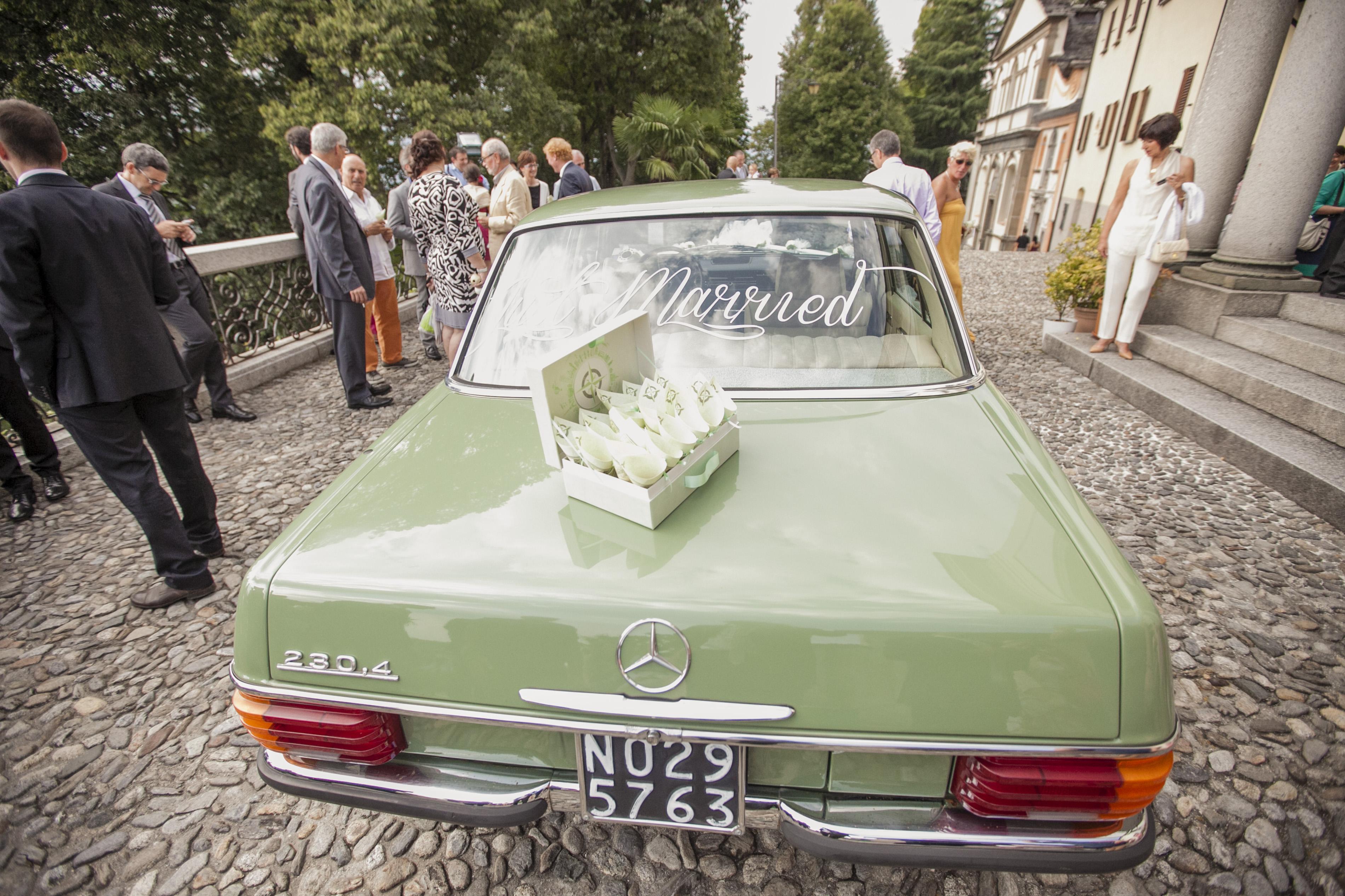 automobile sposi