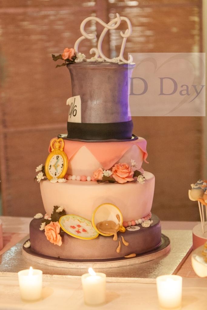 wedding cake alice