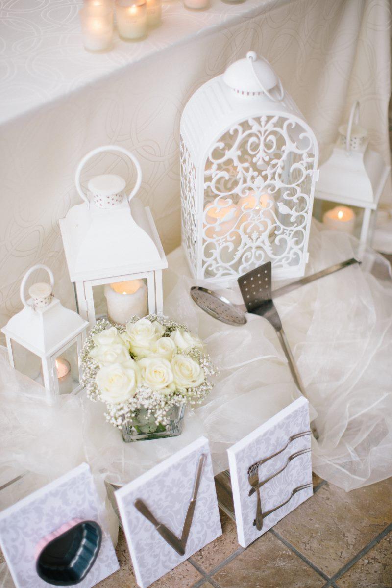 decorazione matrimonio lago