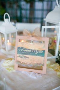 tavolo matrimonio lago