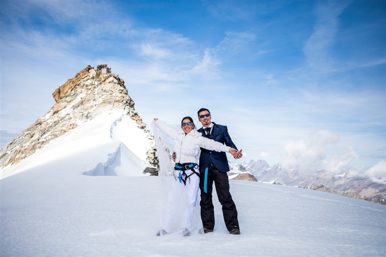 matrimonio montagna