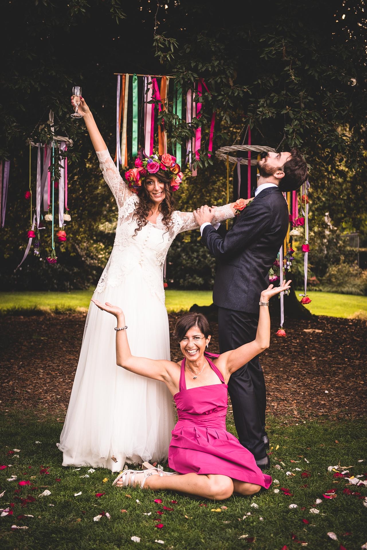 boho wedding italy
